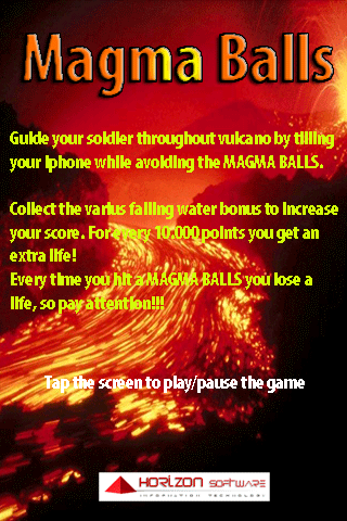 Screenshot Magma Balls