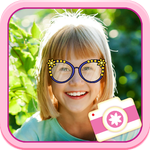 iStickOn Baby Love Sticker camera photo booth dress up retouch for kids and mom PRO